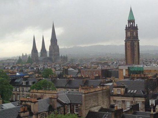 Waldorf Astoria Edinburgh - The Caledonian: View from room
