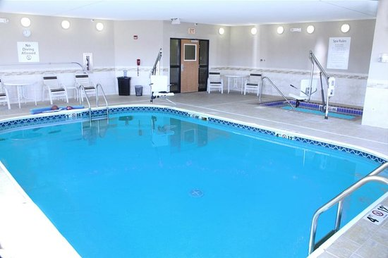 Swimming pool picture of holiday inn express jamestown - Holiday inn hotels with swimming pool ...