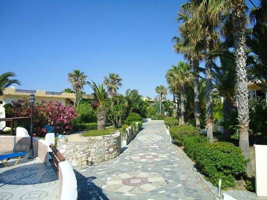 Eurovillage Achilleas Hotel : Hotel grounds.