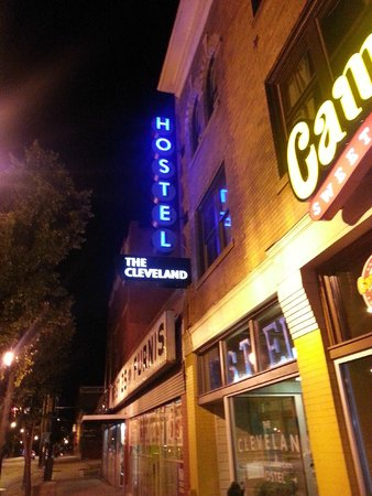 The Cleveland Hostel: The sign you're looking for