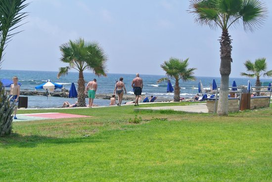 Kefalos Beach Tourist Village: super dicht bij het strand en gras velden