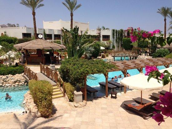 Ghazala Gardens Hotel: View from our balcony