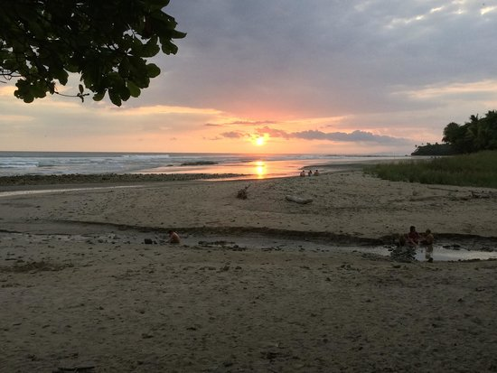 Classic Costa Rican sunset (taken from the adirondack chairs on the Villas Hermosas property)