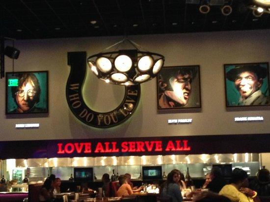 Seminole Hard Rock Hotel Tampa: Hard Rock Cafe