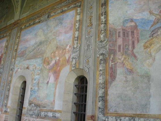 Cappella Sansevero: Affreschi secenteschi nel Complesso Monumentale di Santa Chiara