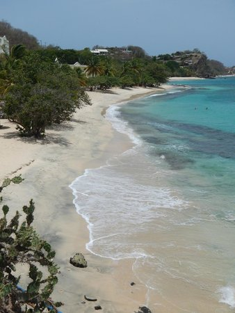 Grenadian by Rex Resorts : View of the Beach from the Pool top Restaurant & Bar