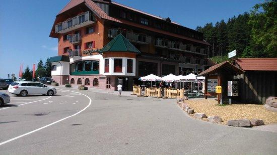 Hotel Heiligenstein : Stop off at Mummelsee en rte to Freudenstadt