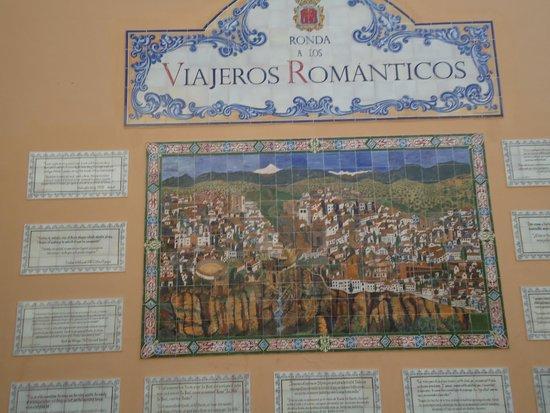 La Ciudad : painel de azulejos