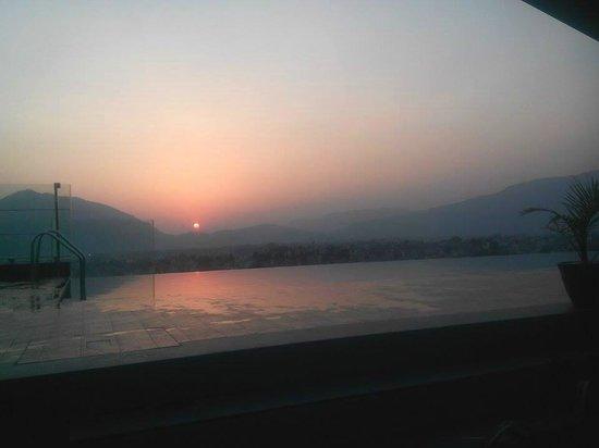 breathtaking sunset picture of hotel shambala kathmandu tripadvisor rh tripadvisor com