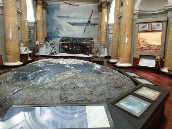 Russian State Museum of Arctic and Antarctic: 1 этаж