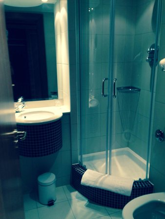 Savill Court Hotel & Spa: Tiny bathroom in room 306 but clean and toiletries supplied