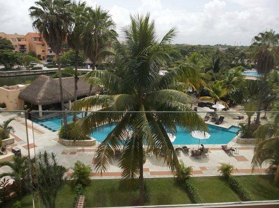 Dreams Puerto Aventuras Resort & Spa: View from the room