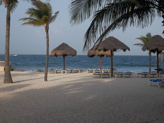 Dreams Puerto Aventuras Resort & Spa: View of the gorgeous beach