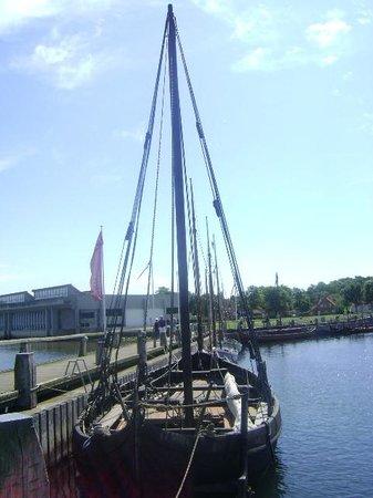 Musée des navires vikings de Roskilde : Museo de Barcos Vikingos, Roskilde, Dinamarca.