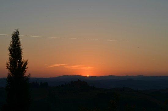 Sulle Orme di Dante Agriturismo: alba