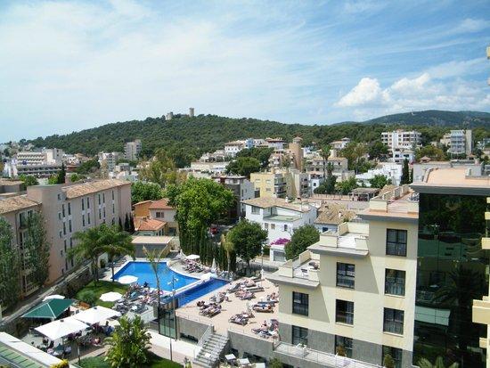 From our balcony picture of hotel isla mallorca spa - Spa palma de mallorca ...