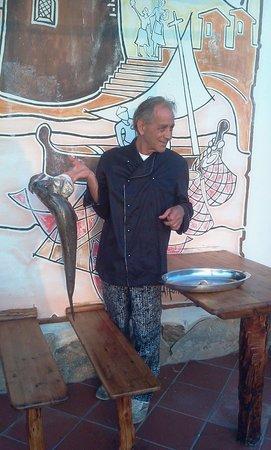 Ottima cucina Bar La Torre... Pesce freschissimo !!! santa lucia