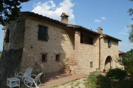 Sulle Orme di Dante Agriturismo: la casa