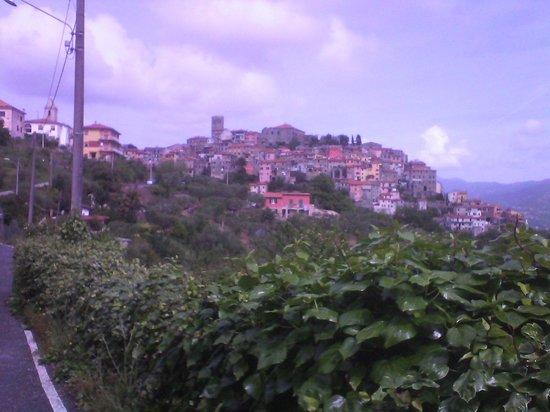 Hotel Relais Al Convento: vista dalla strada