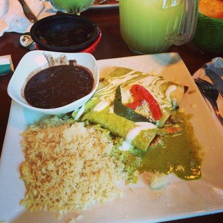 El Bracero: One of my favorite meals here
