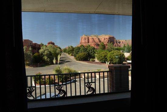 Days Inn Kokopelli Sedona : Very nice view from room 209.