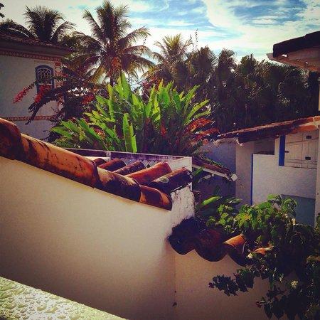 Pousada Casa de Paraty: Vista da varanda do quarto do primeiro andar