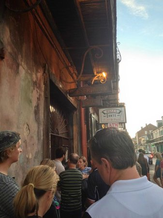 Preservation Hall : Get in line about an hour before the show starts (we only had about ten people in front of us)