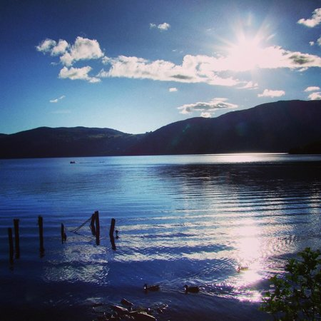 Dores Inn : Overlooking Loch Ness from the Inn