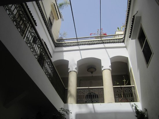 Riad Princesse Jamila: patio