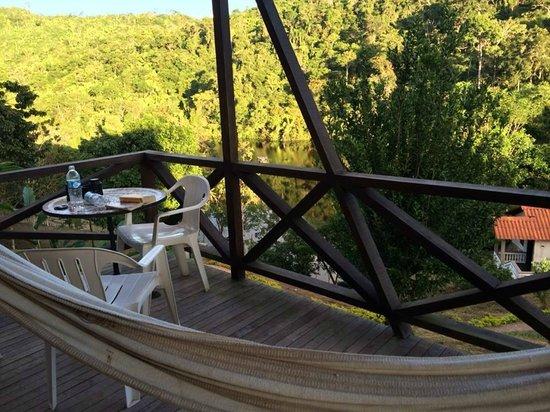 Hotel Lago Lindo: The room balcony