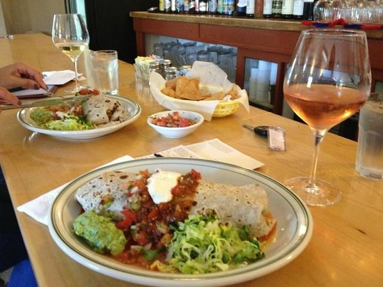 Libby's Restaurant: burrito plates
