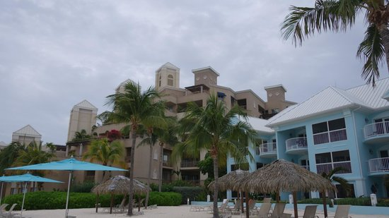 Coral Stone Club: View from the beach