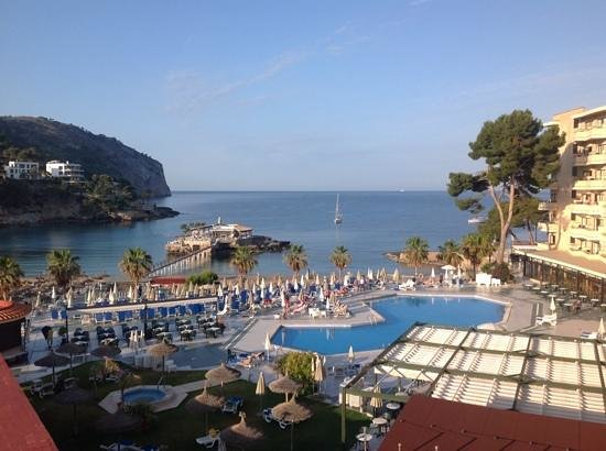 Grupotel Playa Camp de Mar: view from room 239