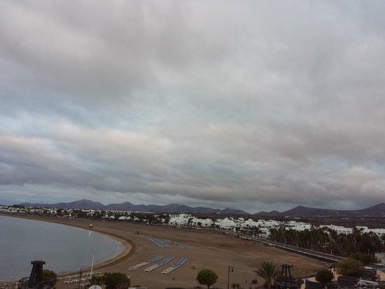 Seaside Los Jameos Playa: mal tiempo