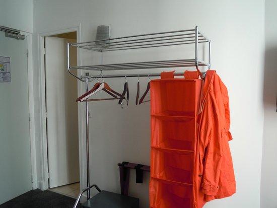 Hotel Monterosa - Astotel : Smart garderobslösning