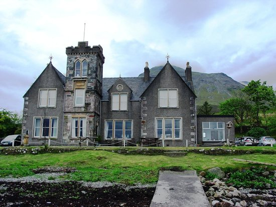 Sconser Lodge Hotel: Overlooking the water