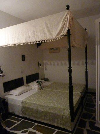 Voreades : Chambre à l'étage