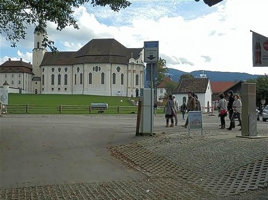 Wieskirche: Церковь Вис