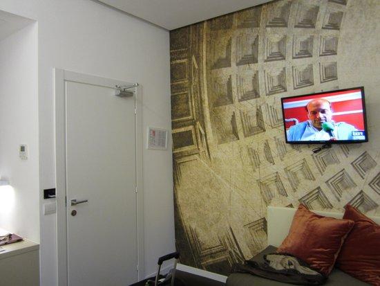Hotel Abruzzi: Vista habitación
