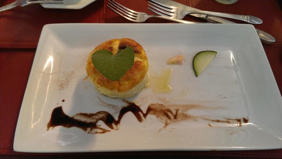 Globetrotters Bed and Breakfast : Souffle