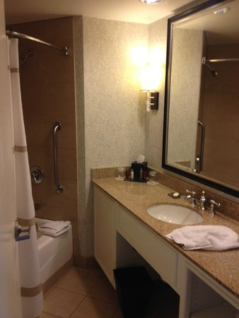Laguna Cliffs Marriott Resort & Spa: Vanity/shower