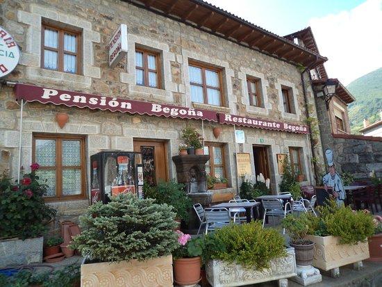 Posada de Valdeon, Hiszpania: La terraza