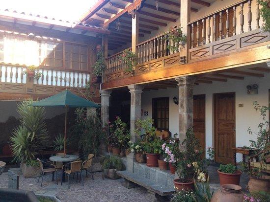 Hotel Rumi Punku: Terraces