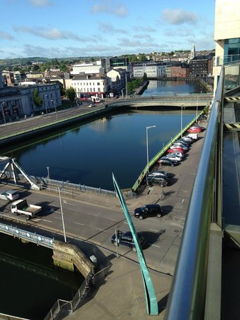 Clayton Hotel Cork City: View from balcony room