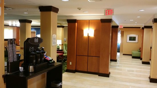 Fairfield Inn & Suites Kennett Square Brandywine Valley: Lobby