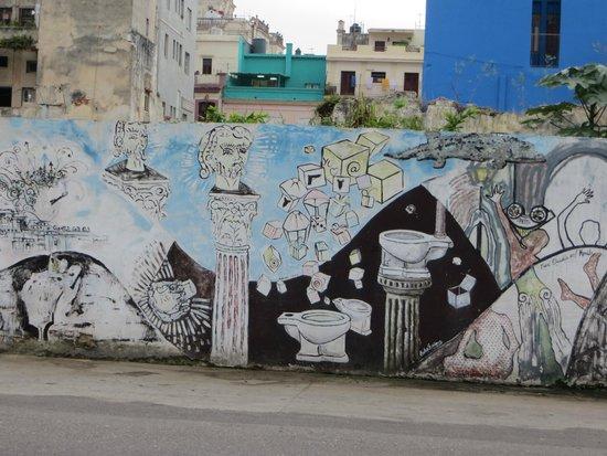 IBEROSTAR Parque Central: local grafity