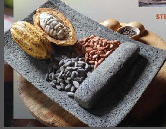Agouti Cacao Farm: Metate Stone
