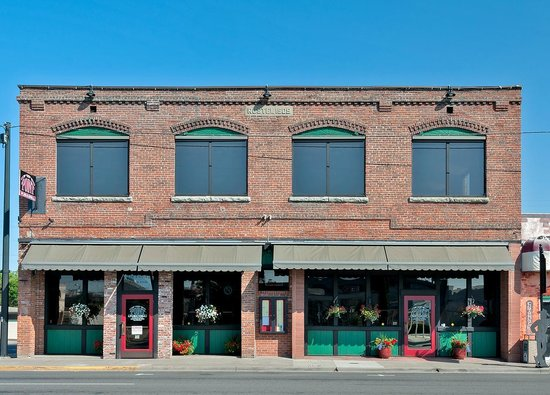 """The Point Pub and Grill: """"Rostel Building 1909"""""""