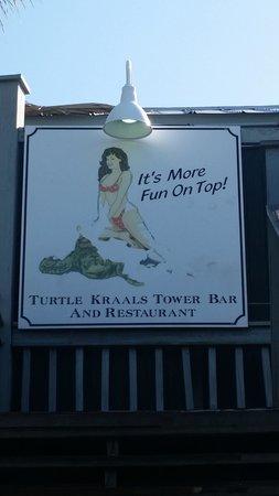 Turtle Kraals: Funny Sign