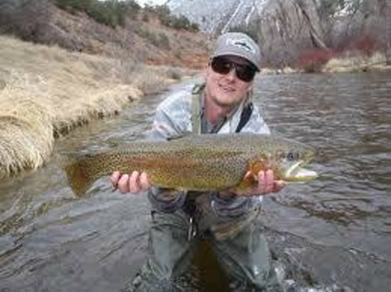 Fishing The Frying Pan River Picture Of Basalt Mountain